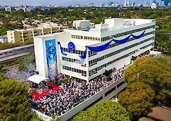 Eröffnung des neuen Gebäudes der Scientology Kirche Miami