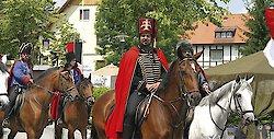 Trenck der Pandur erobert Spiegelau in Bayern